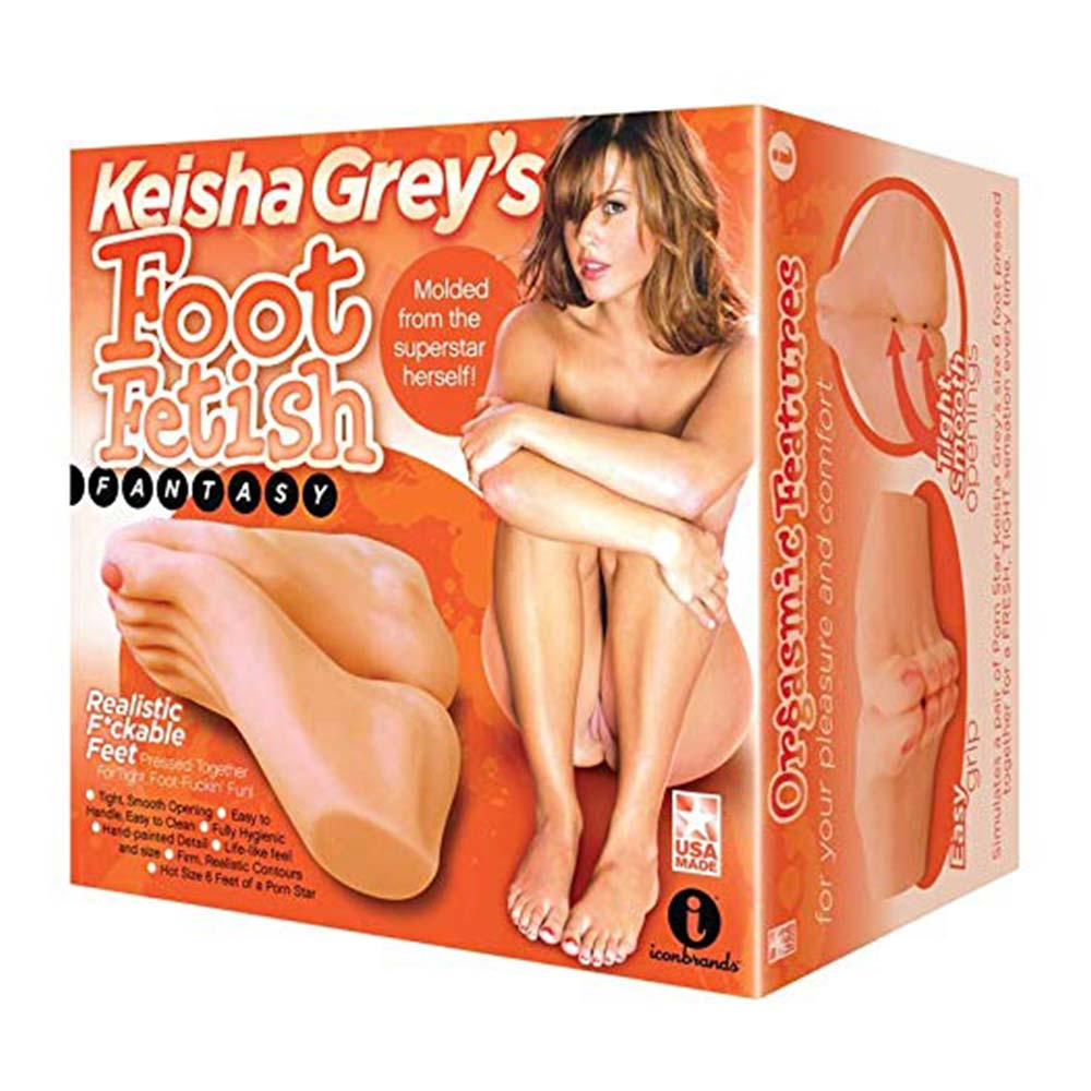 Keisha Grey's Foot Fetish Fantasy