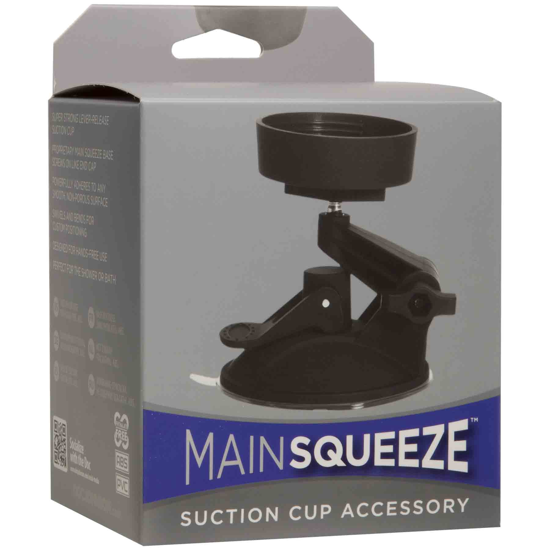 Main Squeeze | OptiMALE - Suction Cup - Accessory - Black