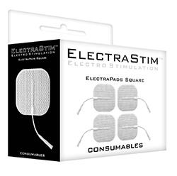 ElectraStim Love Pads-Square (Pack Of 4)